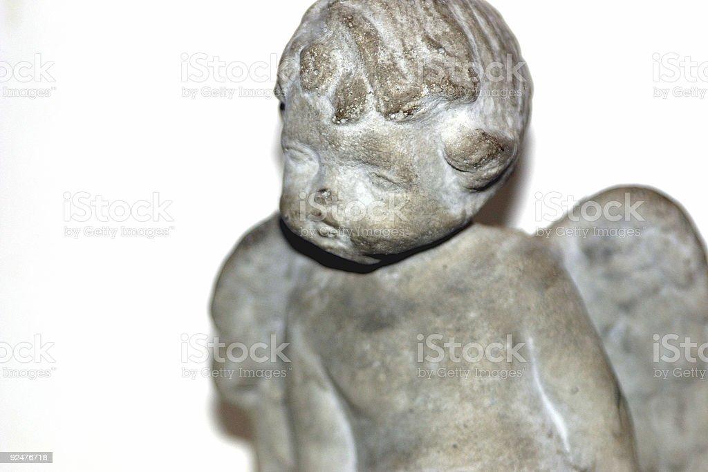 Cherub Statuette royalty-free stock photo