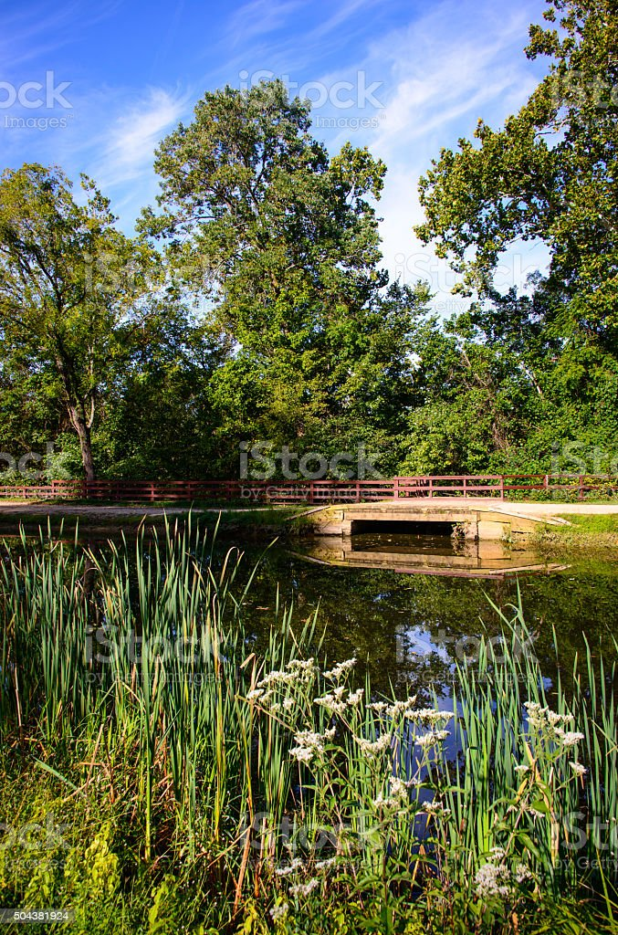 Chesapeake and Ohio Canal National Historical Park stock photo