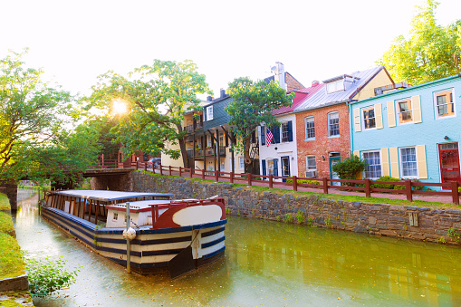 Chesapeake And Ohio Canal National Park Dc Stock Photo - Download Image Now