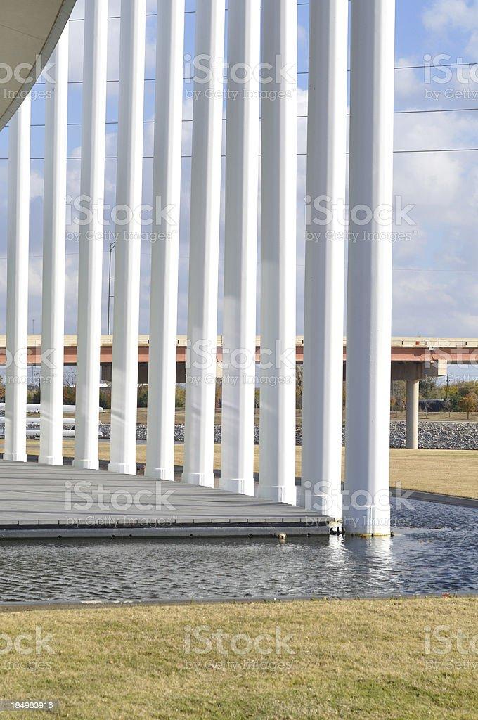 Chesapeake Boathouse, Oklahoma River stock photo