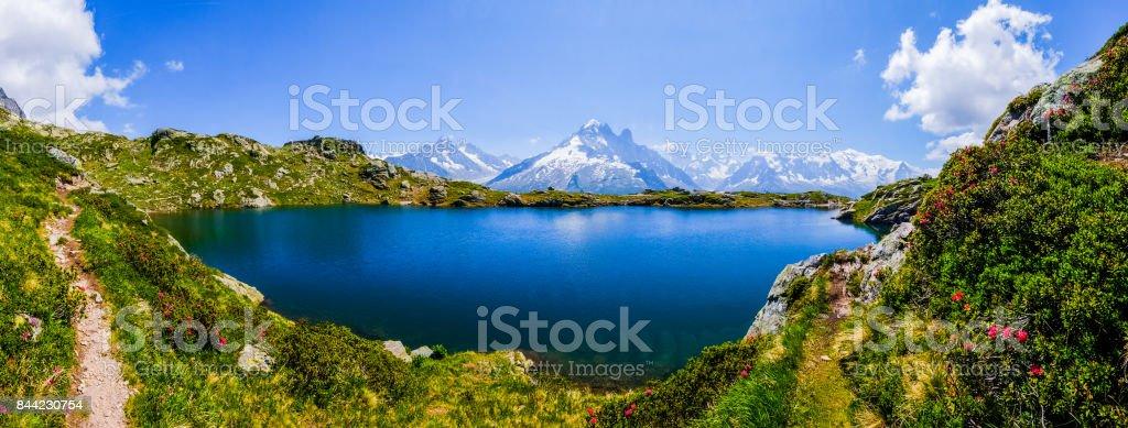 Cheserys lake stock photo