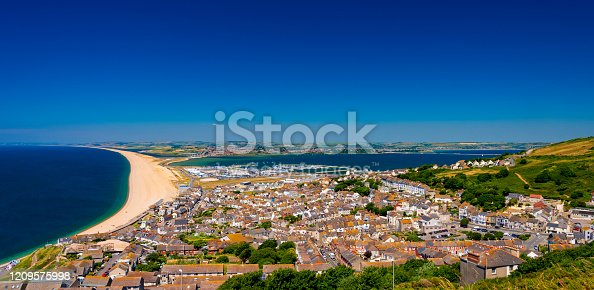 istock Chesil Beach, Portland Harbour and Weymouth 1209575998