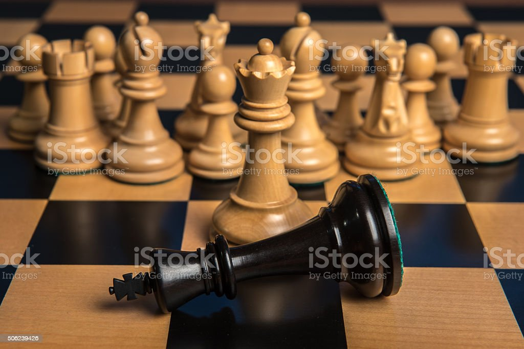 Chess 1 stock photo