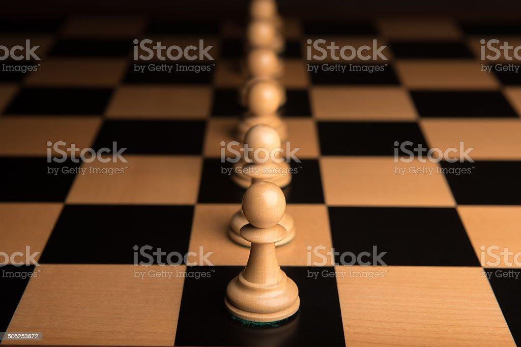 Chess 11 stock photo