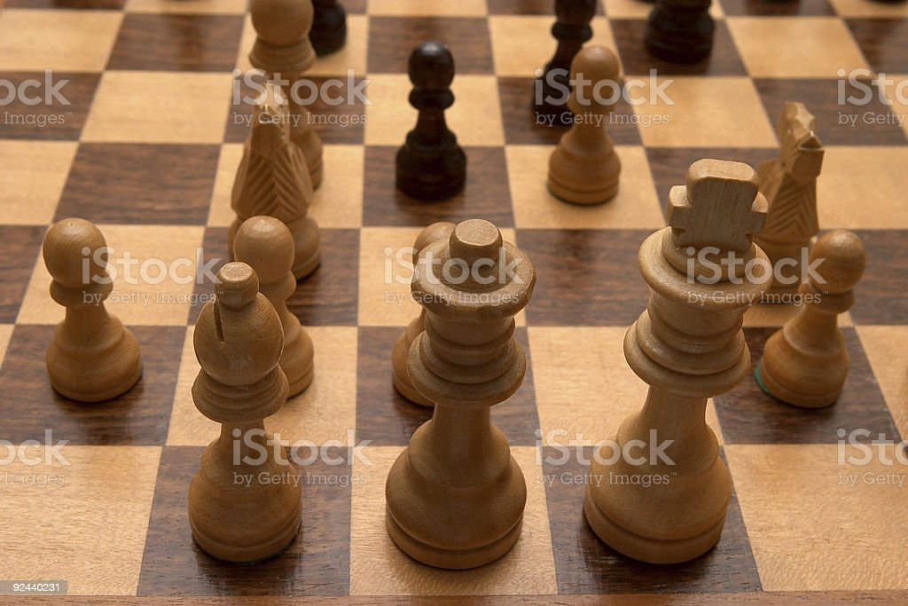 Chess 3 royalty-free stock photo