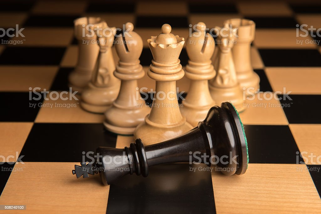 Chess 4 stock photo