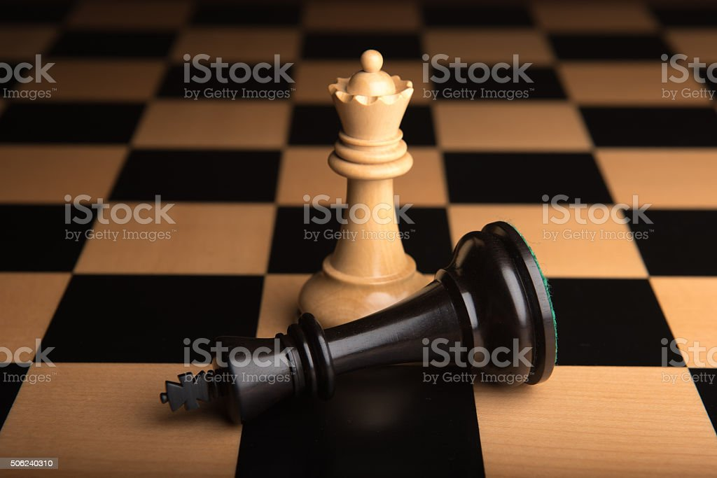 Chess 5 stock photo