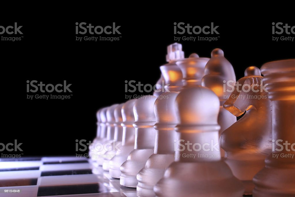 Chess army royalty-free stock photo