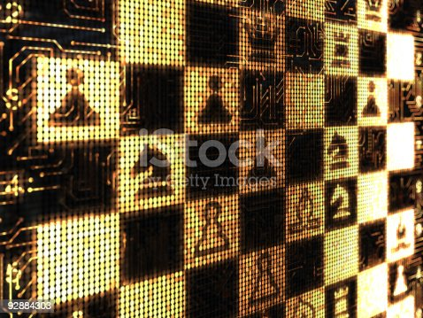 185317823 istock photo Chess backround 92884303