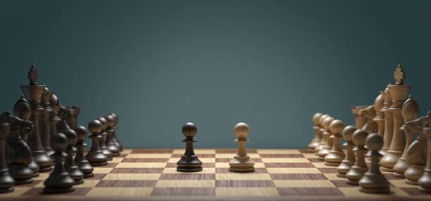bataille d'échecs - échec photos et images de collection