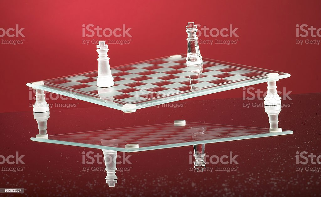 Chess board concept royalty-free stock photo