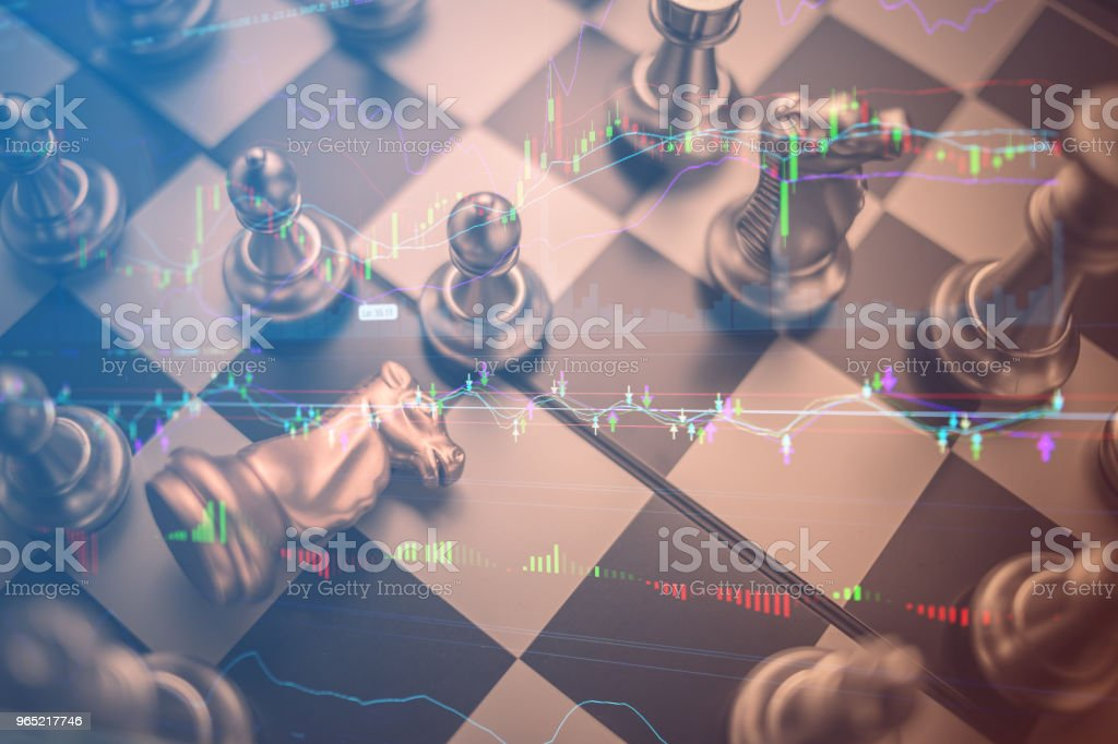 chess board game concept of business ideas and competition and stratagy plan success meaning royalty-free stock photo