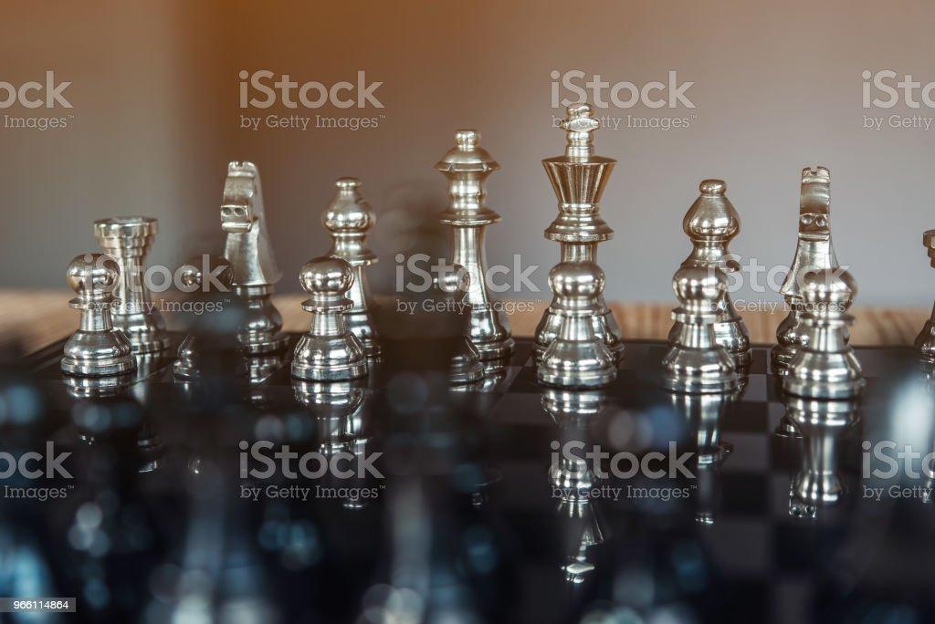 Chess brädspel för idéer och konkurrens och strategi, framgång affärsidé - Royaltyfri Affärsmänniska Bildbanksbilder