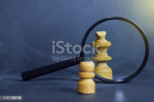 istock Chess board game. Strategic planning and intelligence concept 1141738759