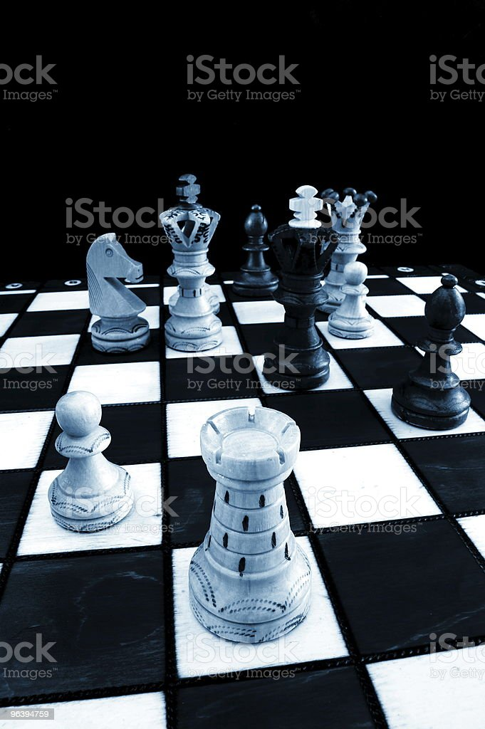 chess board - Royalty-free Black Color Stock Photo