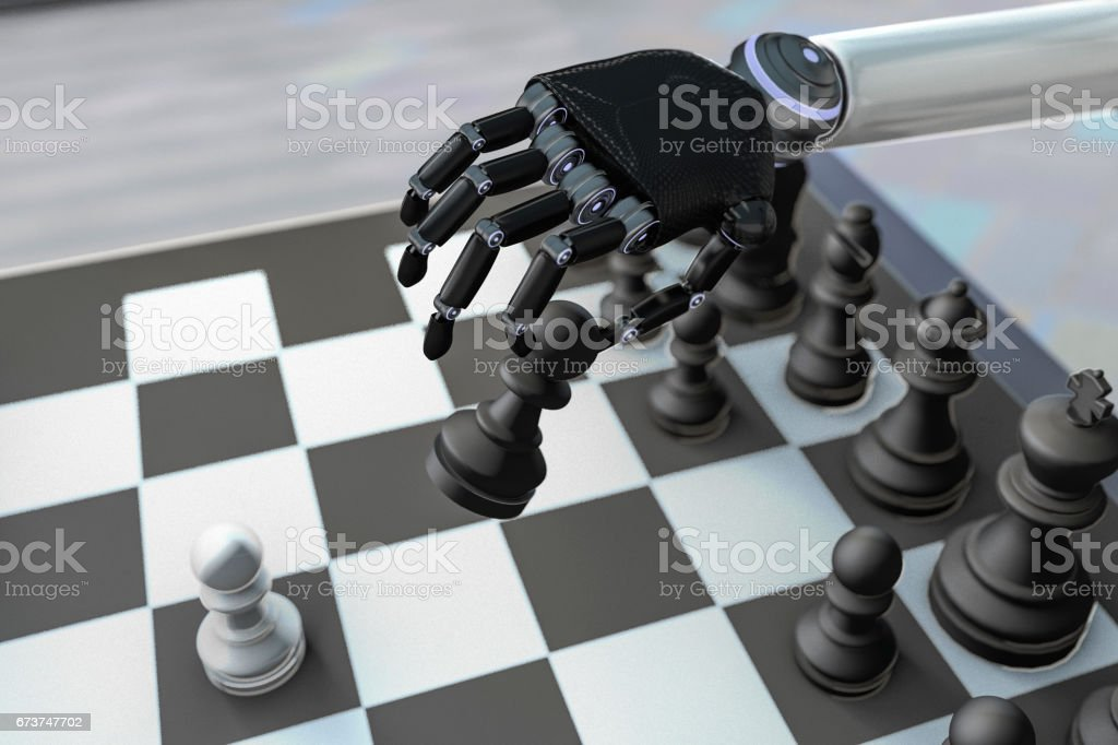 Chess bot photo libre de droits