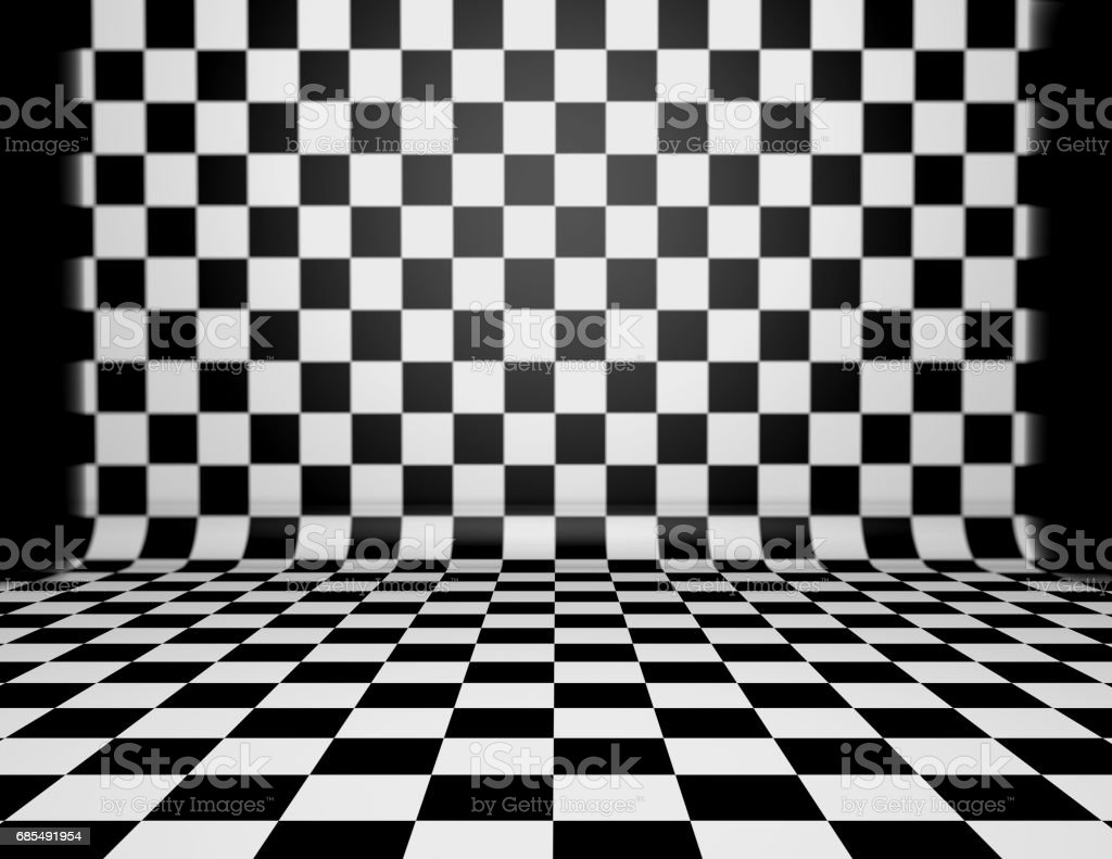 Chess Checkered Black And White Texture Stock Photo More Pictures