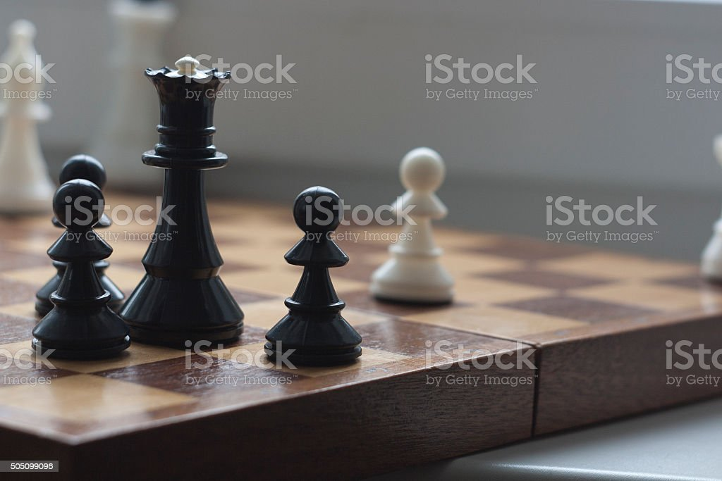Chess, chess game royalty-free stock photo