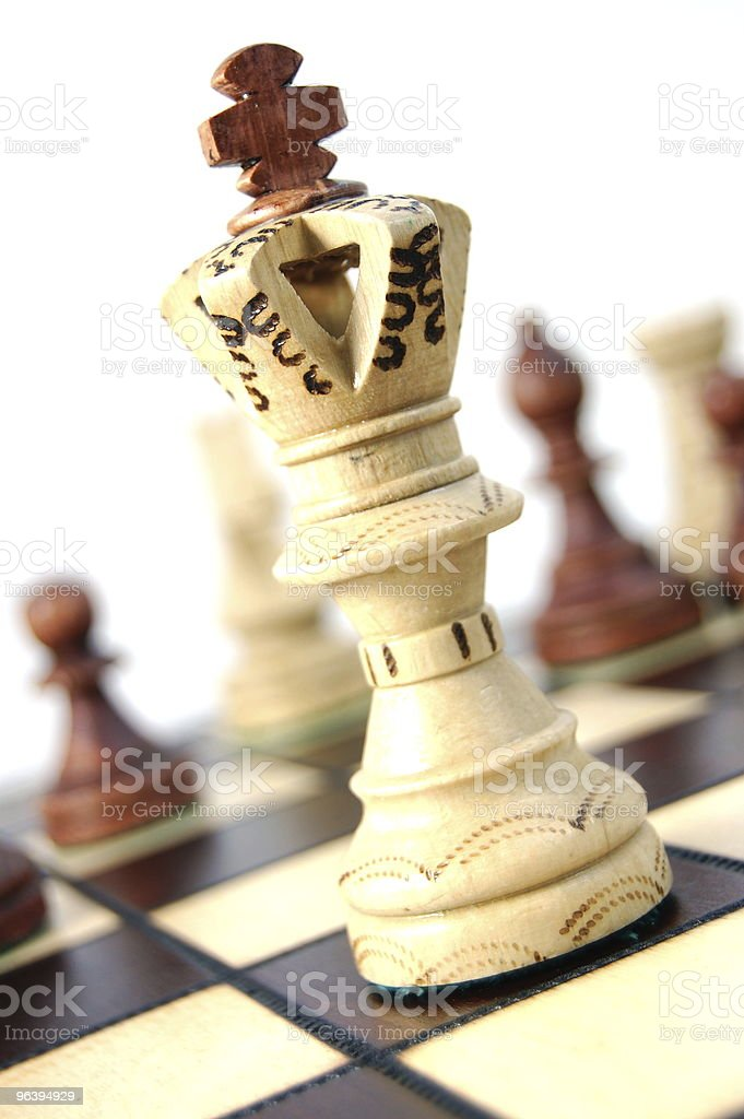 chess competition - Royalty-free Business Stock Photo