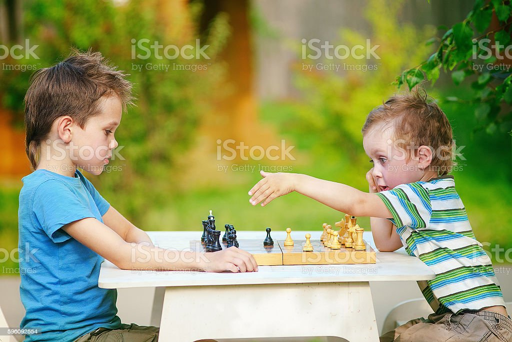chess dispute royalty-free stock photo