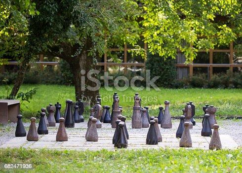 istock Chess field 682471936