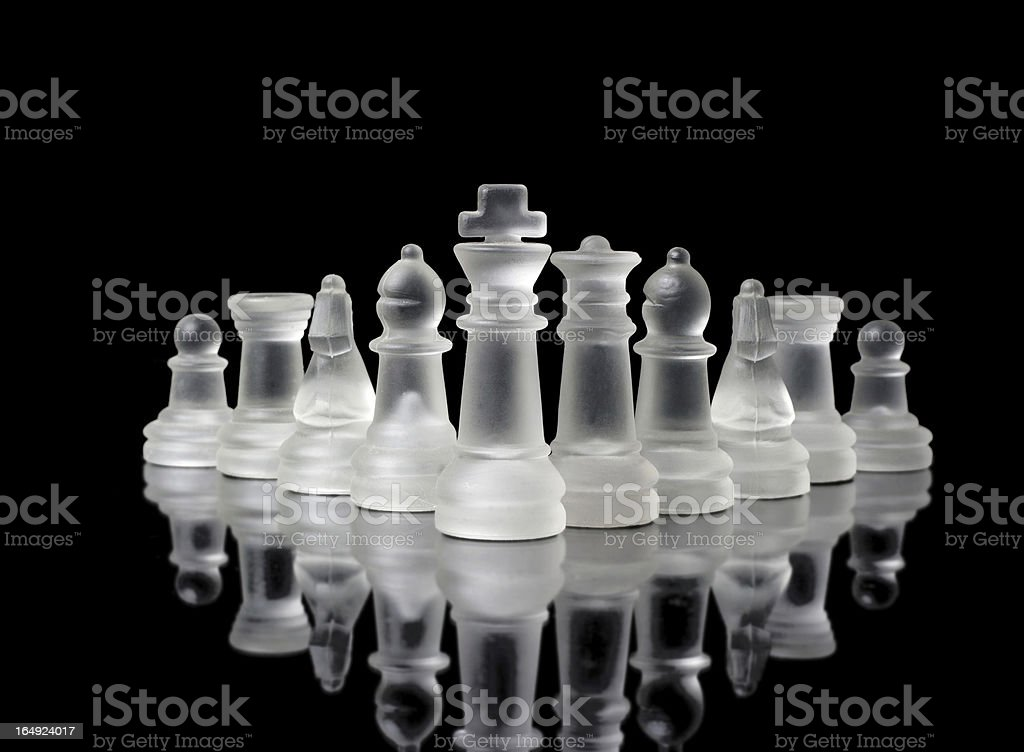 Chess figures royalty-free stock photo