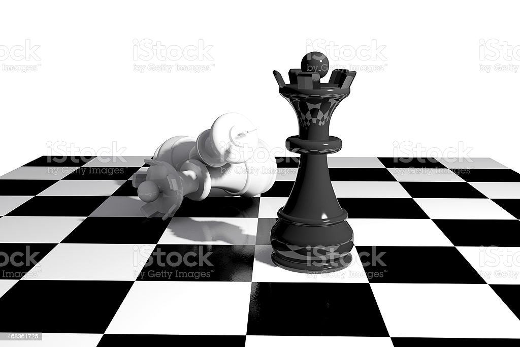 Chess game board royalty-free stock photo