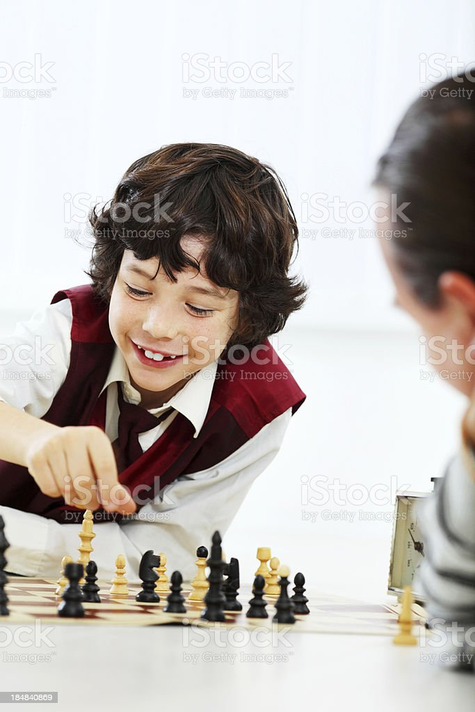 Chess game. royalty-free stock photo