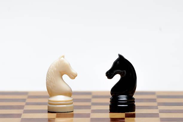 Juego de ajedrez  - foto de stock