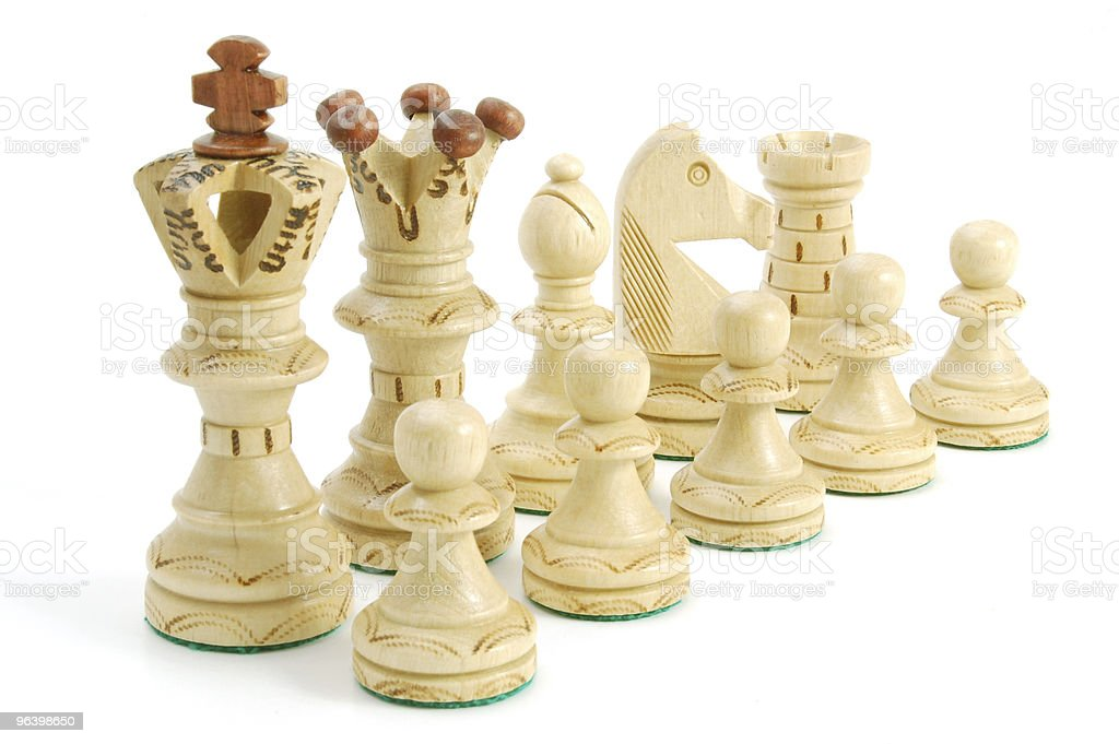 chess game - Royalty-free Business Stock Photo