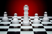 istock Chess game pieces 1061268510