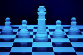 istock Chess game pieces 1061288850