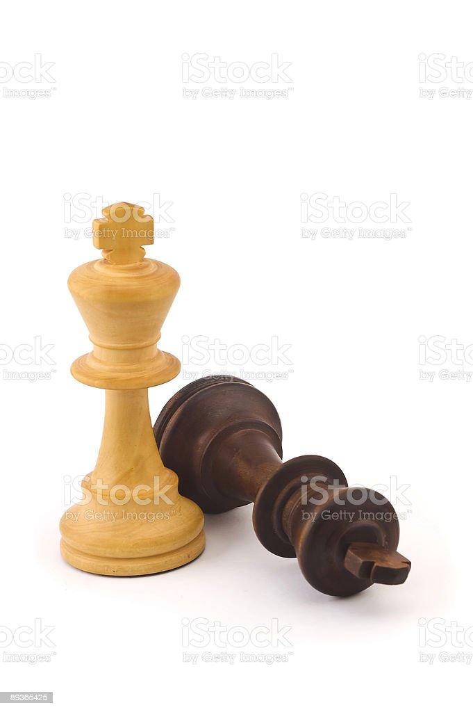 Chess kings royalty-free stock photo
