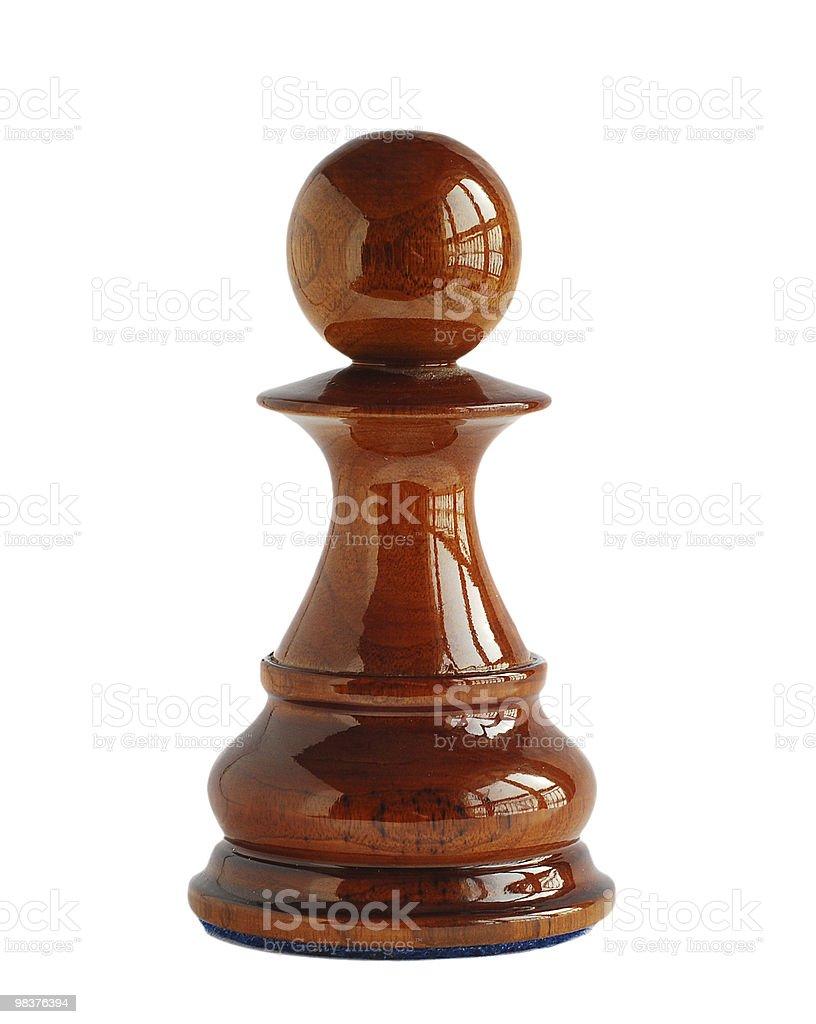 Chess pawn royalty-free stock photo