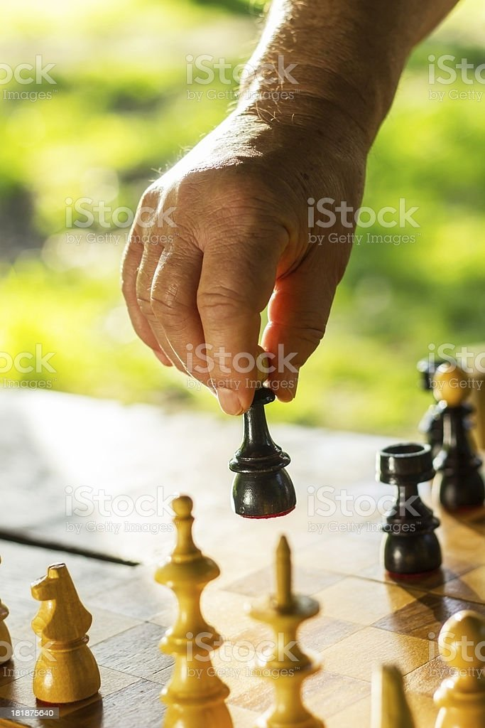 Chess. royalty-free stock photo