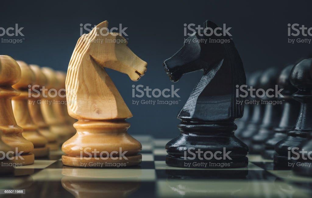 Chess - 戦略のロイヤリティフリーストックフォト