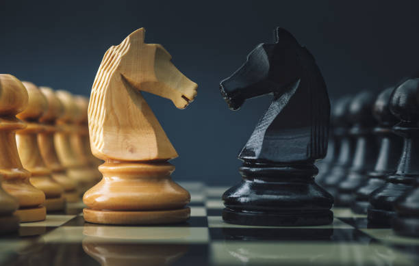 chess - approach stock photos and pictures