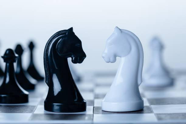 Chess. stock photo