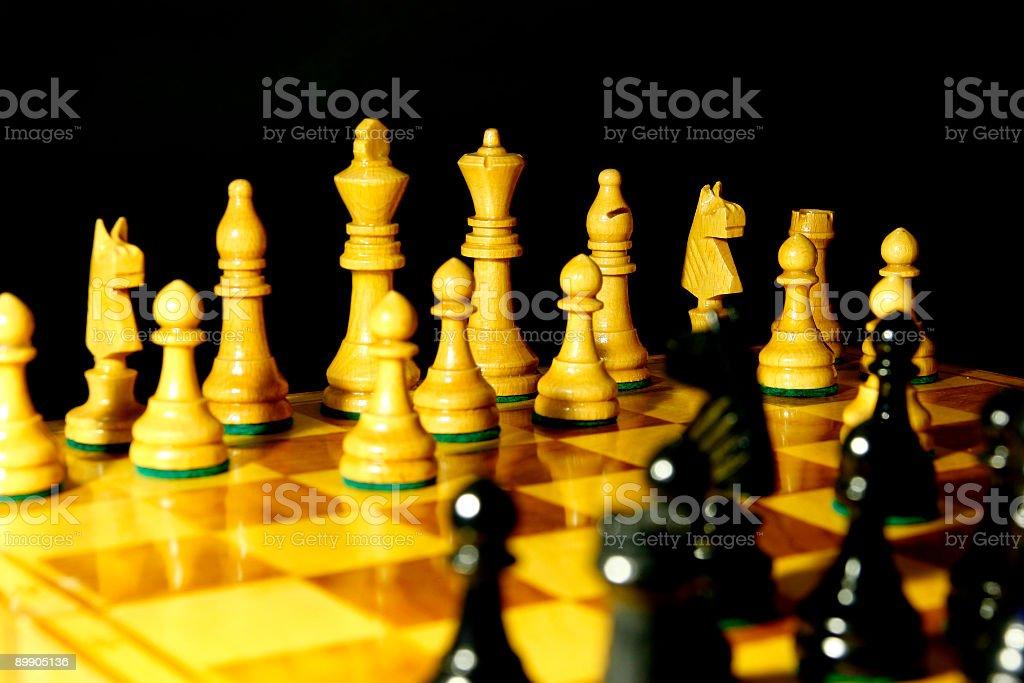 Шахматы Стоковые фото Стоковая фотография