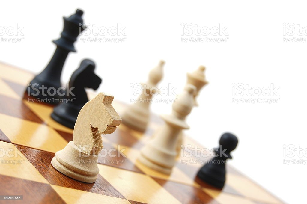 chess - Royalty-free Aspirations Stock Photo