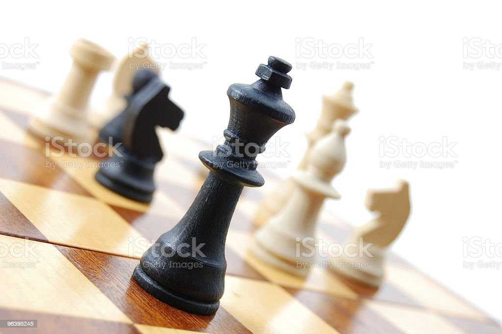 chess - Royalty-free Black Color Stock Photo