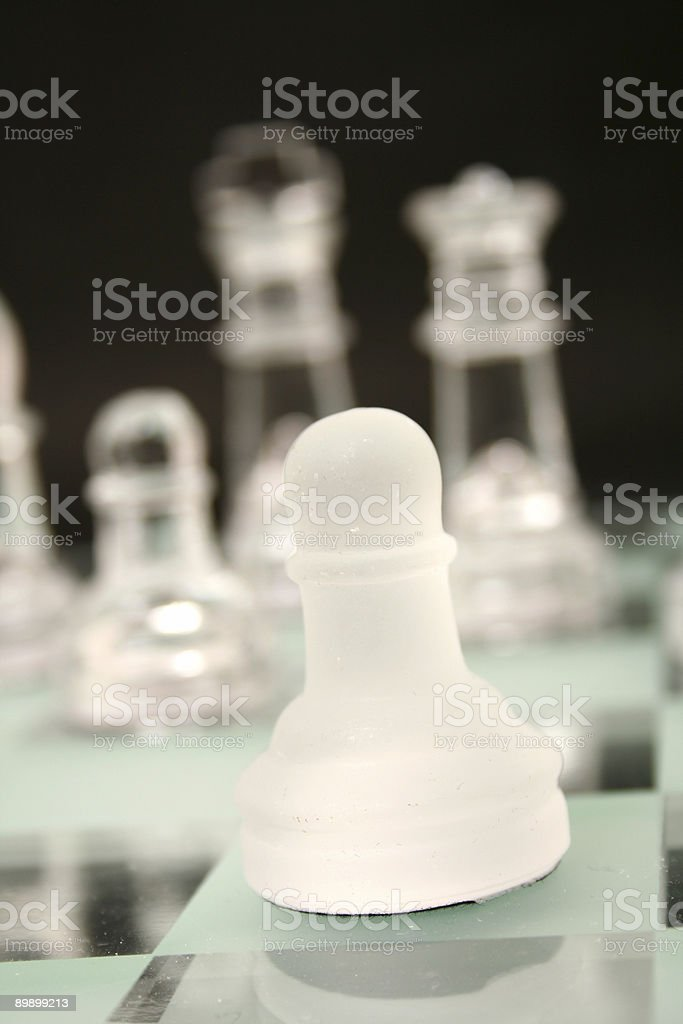 Schachfigur Lizenzfreies stock-foto