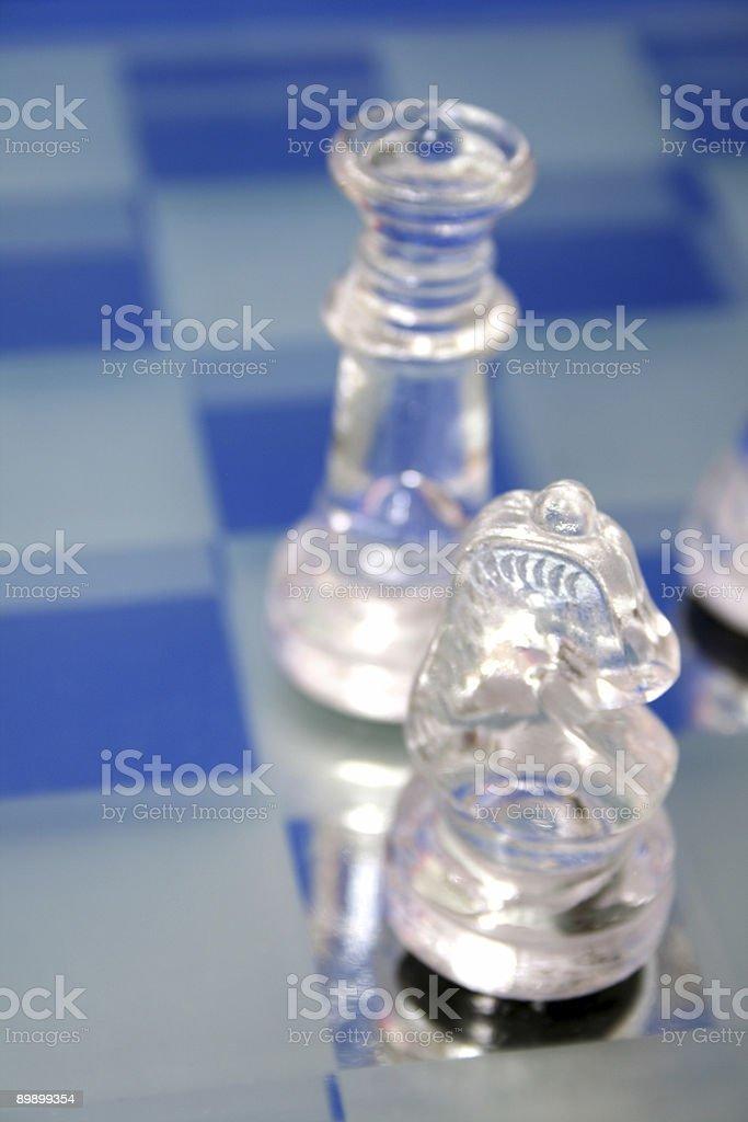 Pieza de ajedrez foto de stock libre de derechos
