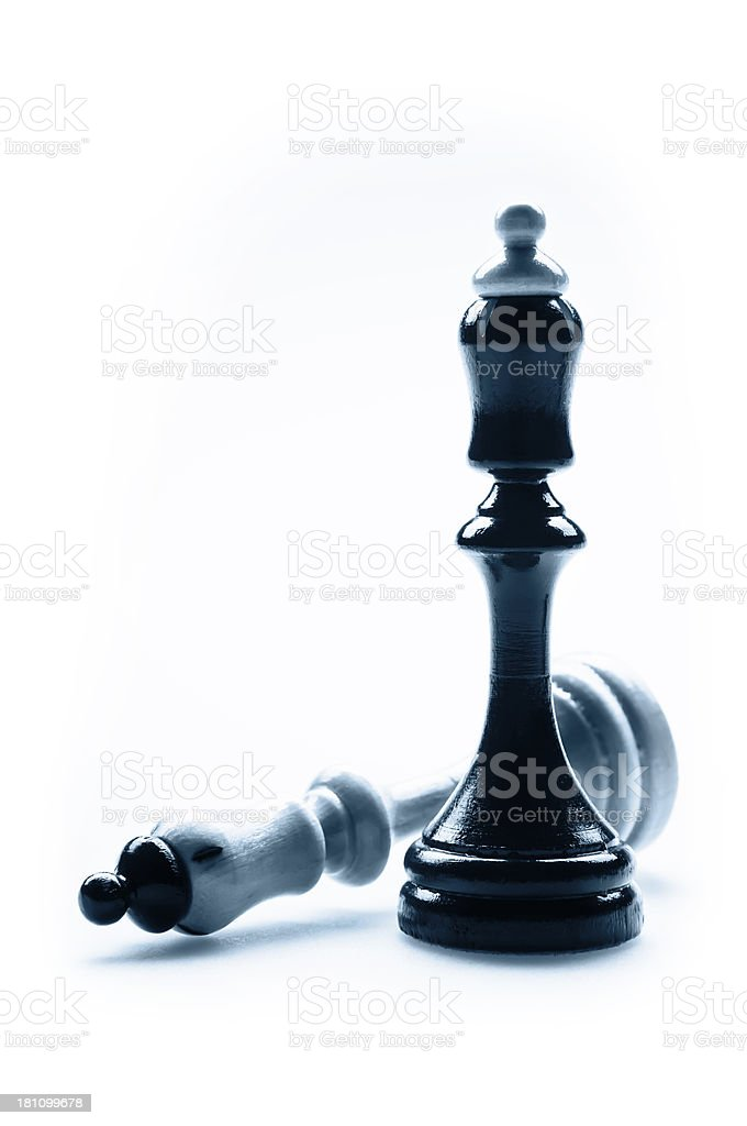 Chess pieces - Kings royalty-free stock photo
