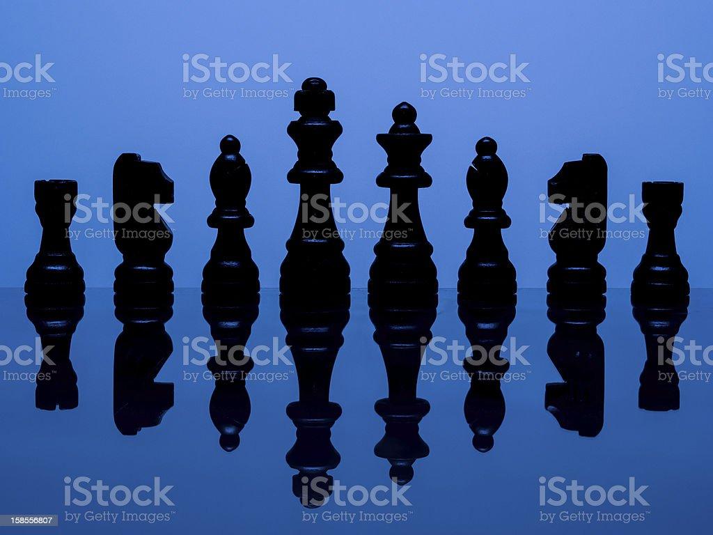 체스 피스 royalty-free 스톡 사진