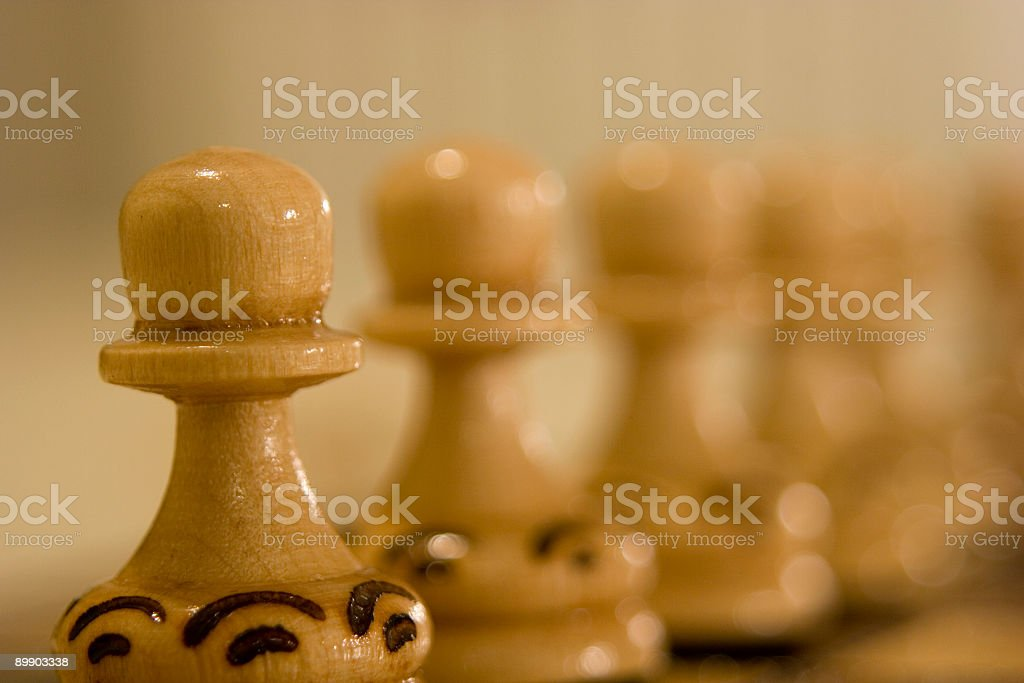Chess Pieces, Soft Focus stock photo