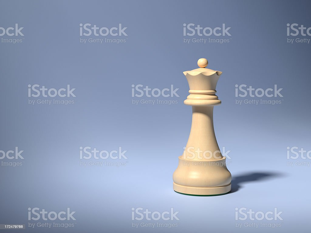 Chess Queen XL+ royalty-free stock photo