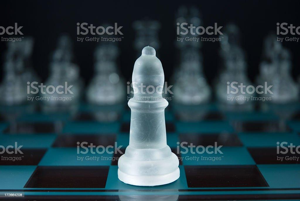 Chess series - Bishop stock photo