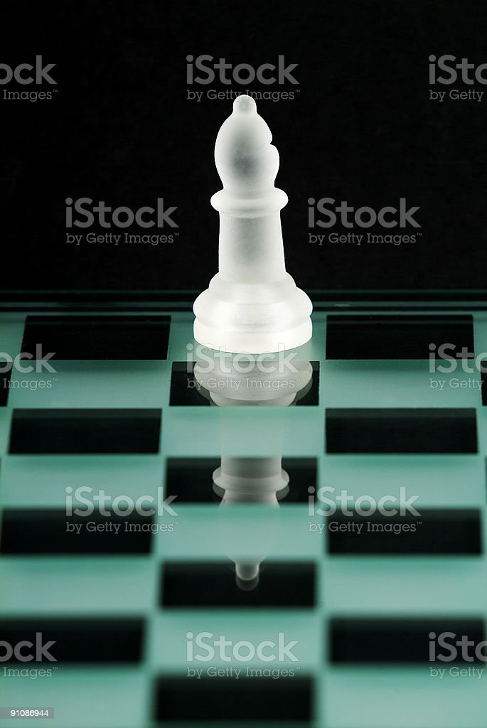Chess Series - Bishop royalty-free stock photo