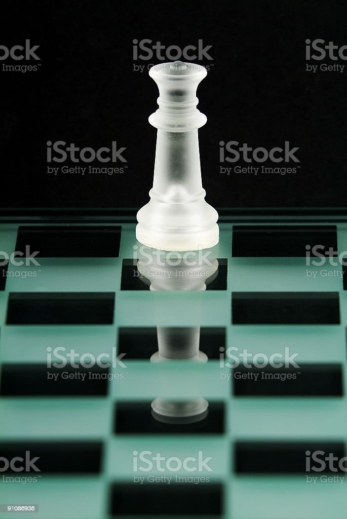 Chess Series - Queen royalty-free stock photo
